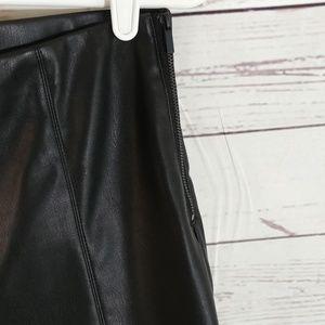 Zara Pants - Zara Tarafluc Collection Faux Leather Pants sz L